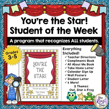 You're the Star * Student Recognition Program