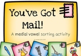 You've Got Mail! A medial vowel sorting activity (with bon
