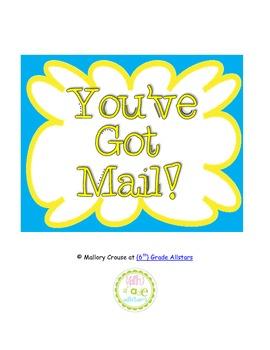 You've Got Mail sign