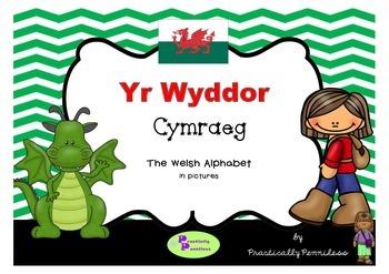 Yr Wyddor - Welsh Alphabet in pictures