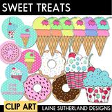 Yum Yum Bubblegum Sweet Treats Clip Art Collection