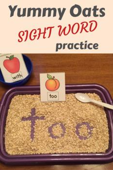 Sight Words - Yummy Oats!