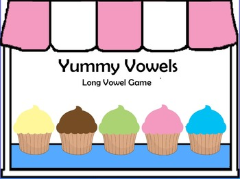 Yummy Vowels Printable Game - Long Vowel Sounds