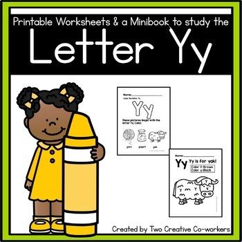 Letter Y { Alphabet Practice }