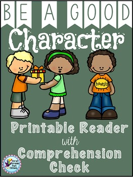 Character Education Differentiated Printable Readers
