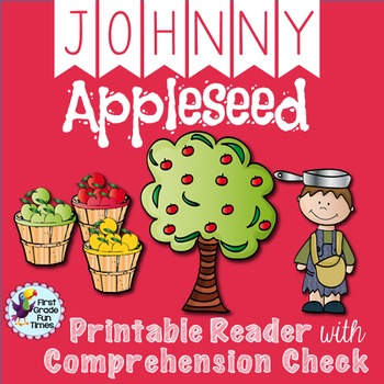 Johnny Appleseed Differentiated Apple Printable Readers