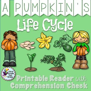 Pumpkins - A Pumpkin's Life Cycle Fall Activities Differen
