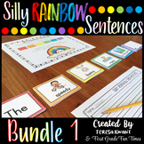 Writing Silly Sentences Writing Prompts First Week of School