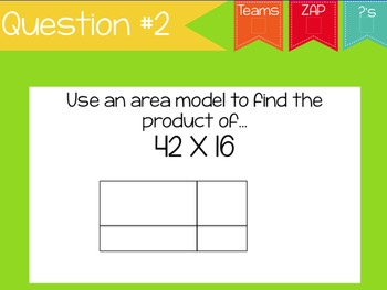 ZAP! Math Review Game NBT #6-7 (Multiplication & Division)