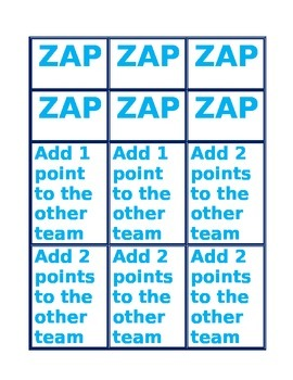 ZAP Review Game