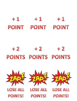 ZAP review game playing cards