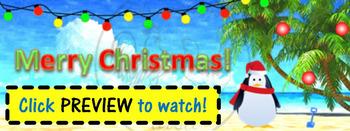 ZING Banners! Animated TpT Banner: Merry Christmas! {Anima