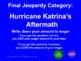 Zane and the Hurricane by Rodman Philbrick Jeopardy
