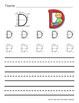 Zaner Bloser Handwriting Worksheets Uppercase and Lowercase