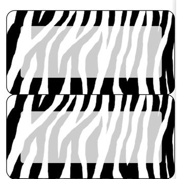 Zebra 4, 6, and 10 per Sheet Labels