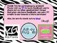 Zebra 8th Grade Math Common Core Posters