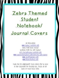 Zebra Journal Covers