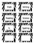 Zebra Themed Cards