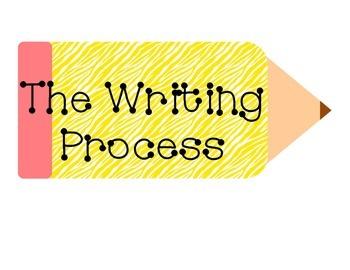 Zebra Writing Process Pencil Bundle