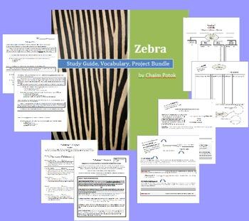 """Zebra"" by Chaim Potok: Study Guide, Vocabulary, Test, and"