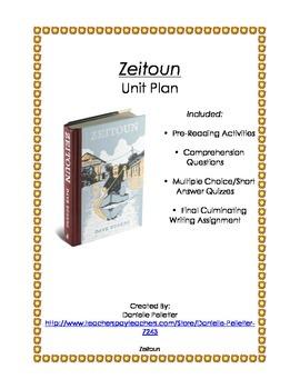 Zeitoun by Dave Eggers-UNIT PLAN