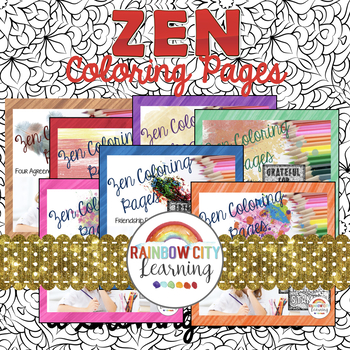 Zen Coloring Pages Bundle