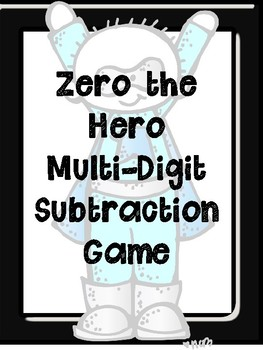 Zero the Hero TWO Different Subtraction Games... by Stephanie Ann ...