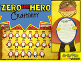 Zero the Hero Craftivity {100th Day Bulletin Board Display