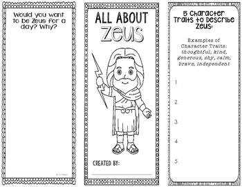 Zeus - Greek Mythology Biography Research Project - Intera
