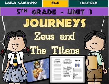 Journeys Grade 5 Trifold (Zeus and the Titans)