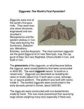 Ziggurats: the World's First Pyramids?