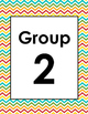 Zigzag Group Labels