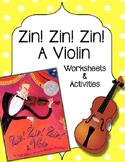 Zin Zin Zin, A Violin - CC Reading List, Worksheets and Ac
