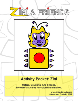 Zini And Friends Zini Activity Packet