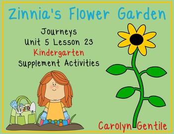 Zinnia's Flower Garden Journeys Unit 5 Lesson 23  Kinderga