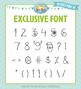 Zip-A-Dee-Doo-Dah Designs Doodle Font 7 — Includes Commerc