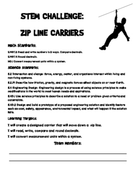Zip Line with CC Math