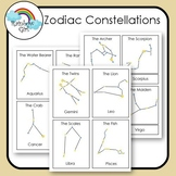 Zodiac Constellation Cards