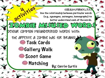 Zombie Misused Words