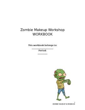 Zombie Workshop Workbook (Fun Halloween Activity)