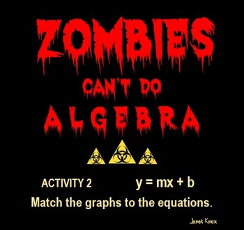 Zombies Can't Do Algebra, Activity 2:  Match Graphs to Slo