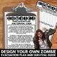 Halloween Writing and Art Activities - Zombies