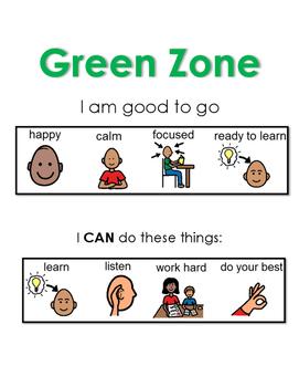 Zones of Regulation: Green Zone