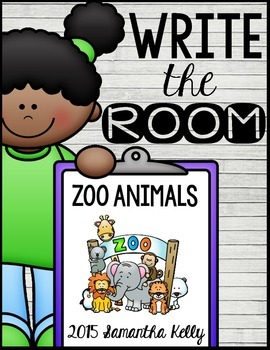 Zoo Write the Room Center