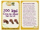 Zoo ASL Flashcards (English/Spanish with clipart)
