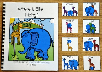 """Zoo Adapted Book--""""Where is Ellie Hiding?"""""""