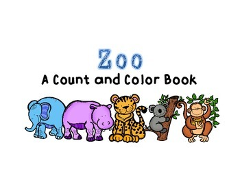 Zoo Adapted Book for Autism and Special Education