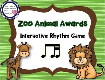 Zoo Animal Awards Rhythm Game: Ti-Tika