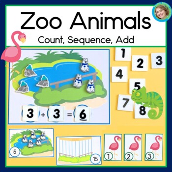 Zoo Animal Counting and Sequencing