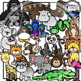 Zoo Animal Clipart Bundle